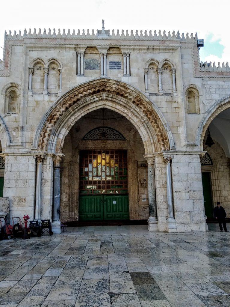 Ingresso della moschea di Al-Aqsa