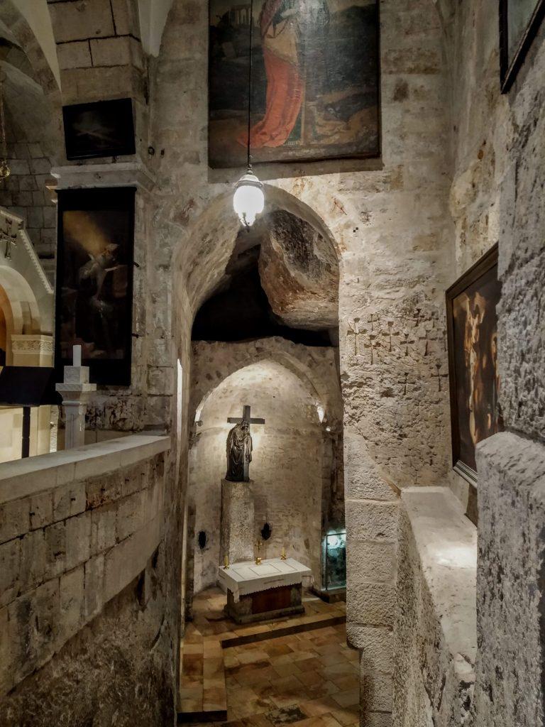 Cappella all'interno del Santo Sepolcro