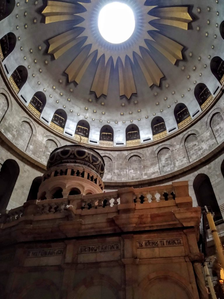 Cupola ed edicola sulla tomba di Gesù