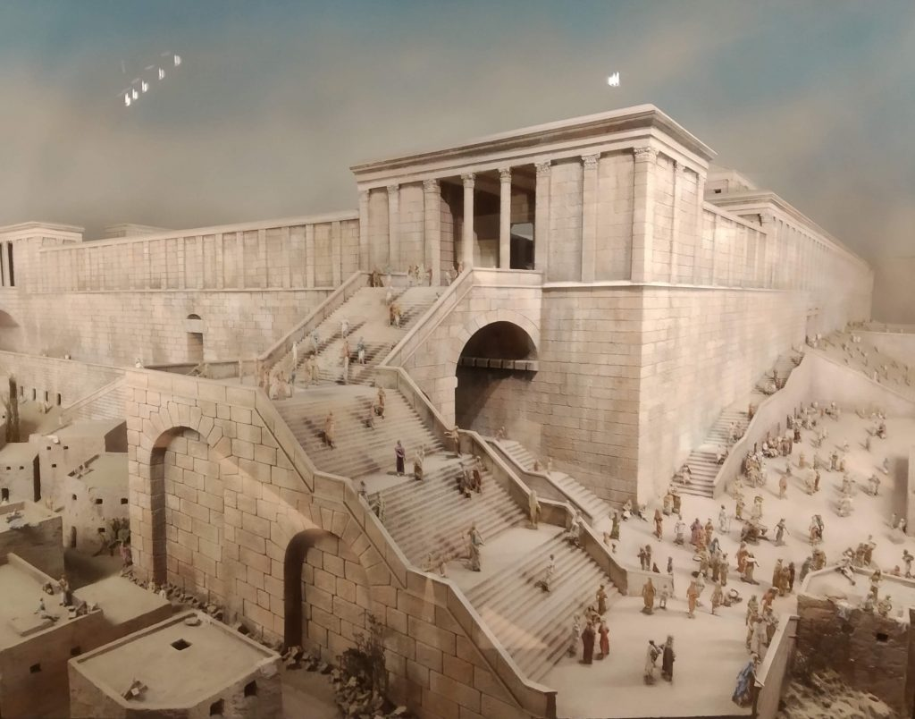 Modello del Tempio ai tempi di Erode